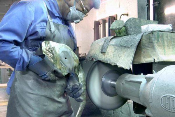 process of a sculpture: 3