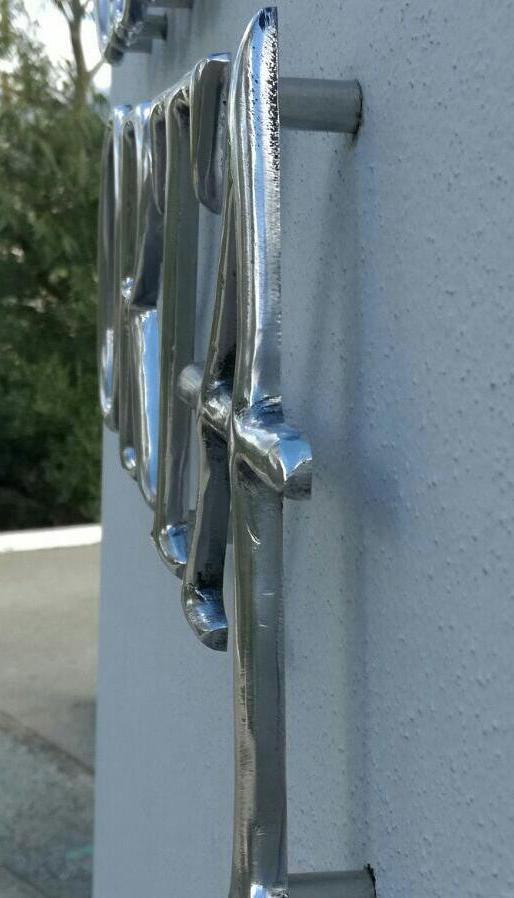 Letras Aluminio - Casa ORTA - Urb. El Madroñal
