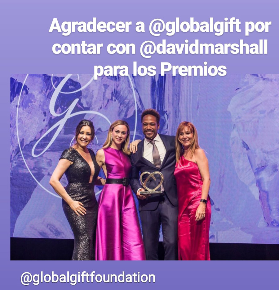 New design Award - Eva Longoria Global Gift
