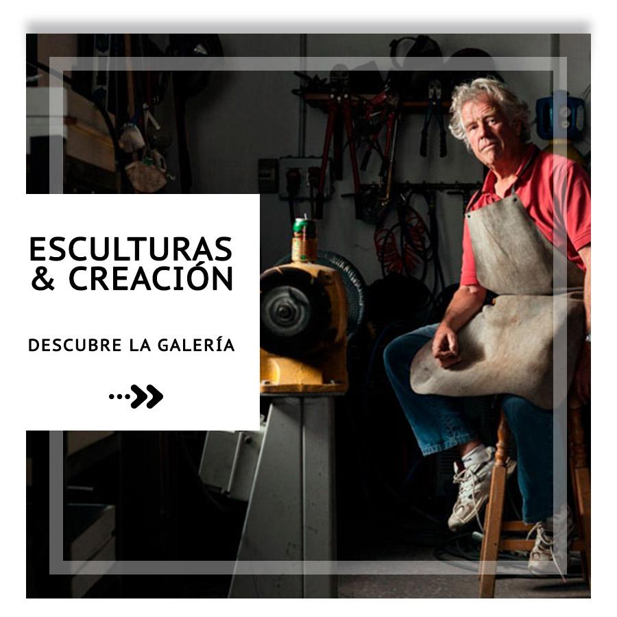 Esculturas y creaciones David Marshall