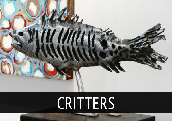 david_marshall_Sculpture_Critters