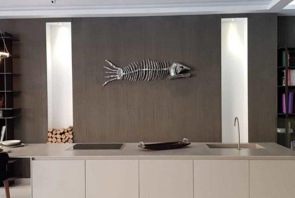 Mural Pez en Aluminio