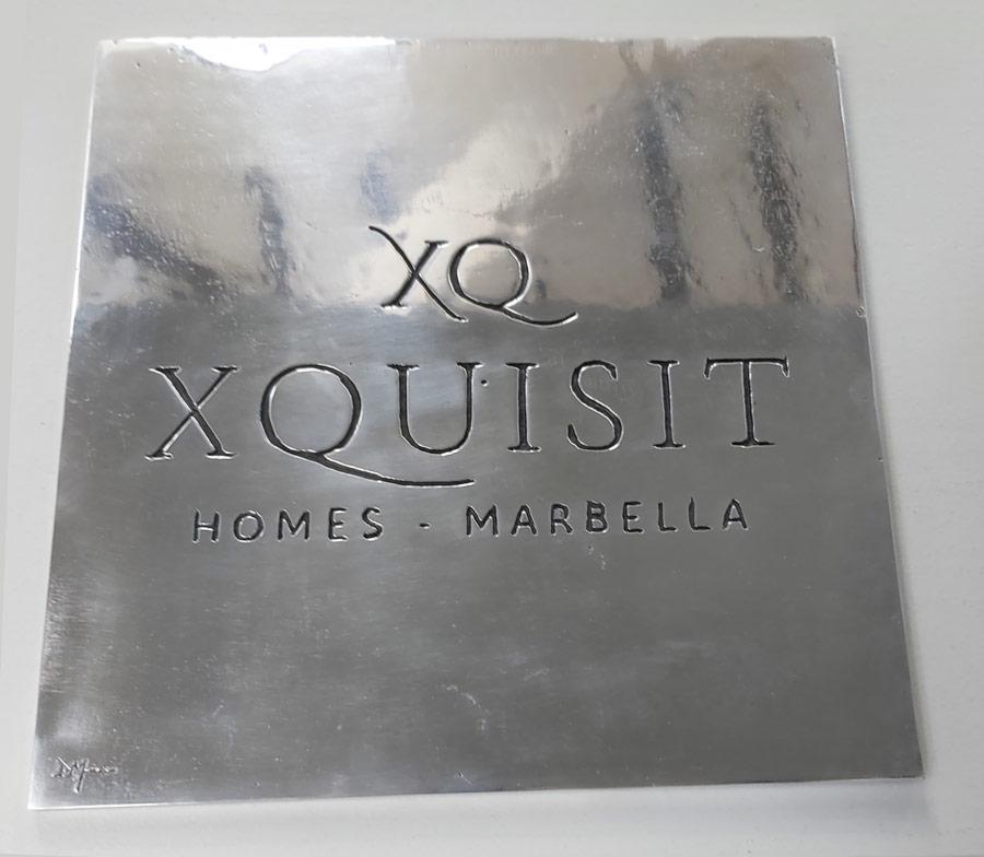 Placa Aluminio XQUISIT