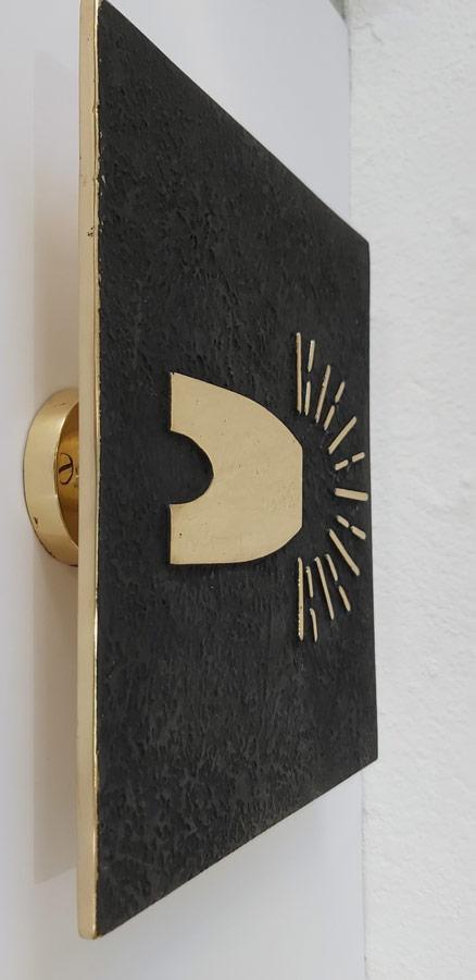 Tirador LOGO VMF latón - Doorhandle LOGO VMF brass